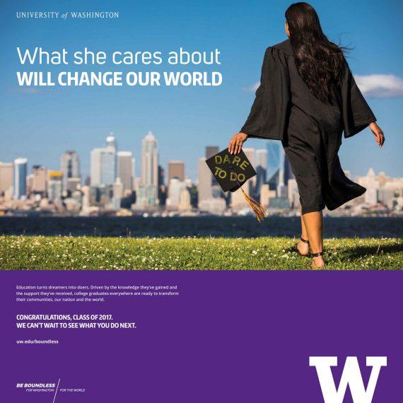 UW Graduation Ad